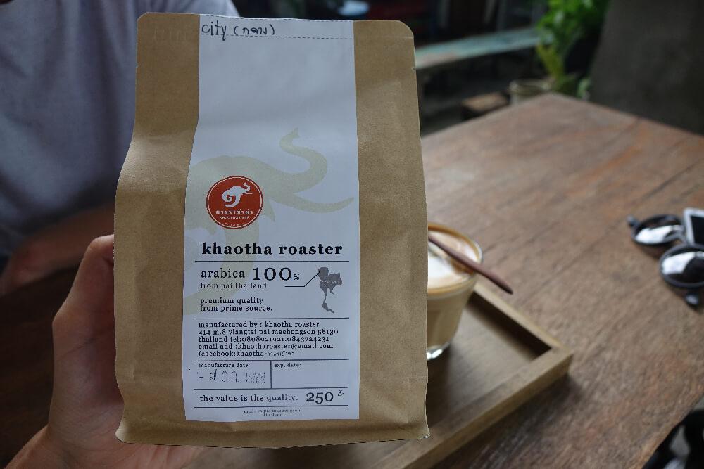 Khaotha Pai Kaffeeroestung