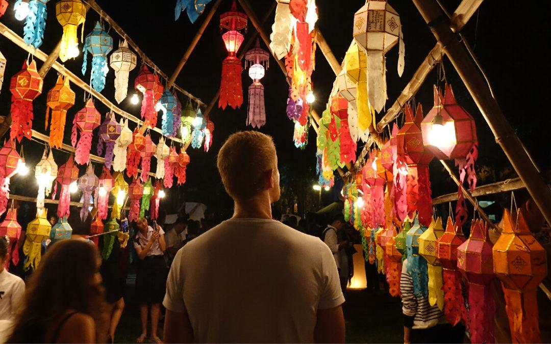 1 Tag, 2 Festivals: Yi Peng & Loy Krathong in Chiang Mai