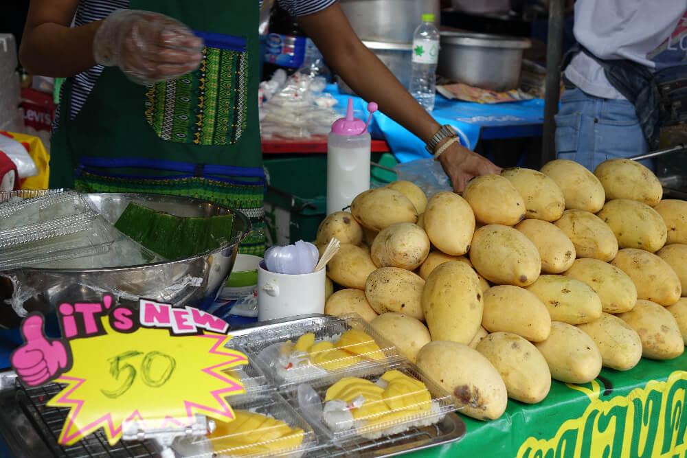 Mango Sticky Rice Stand Bangkok