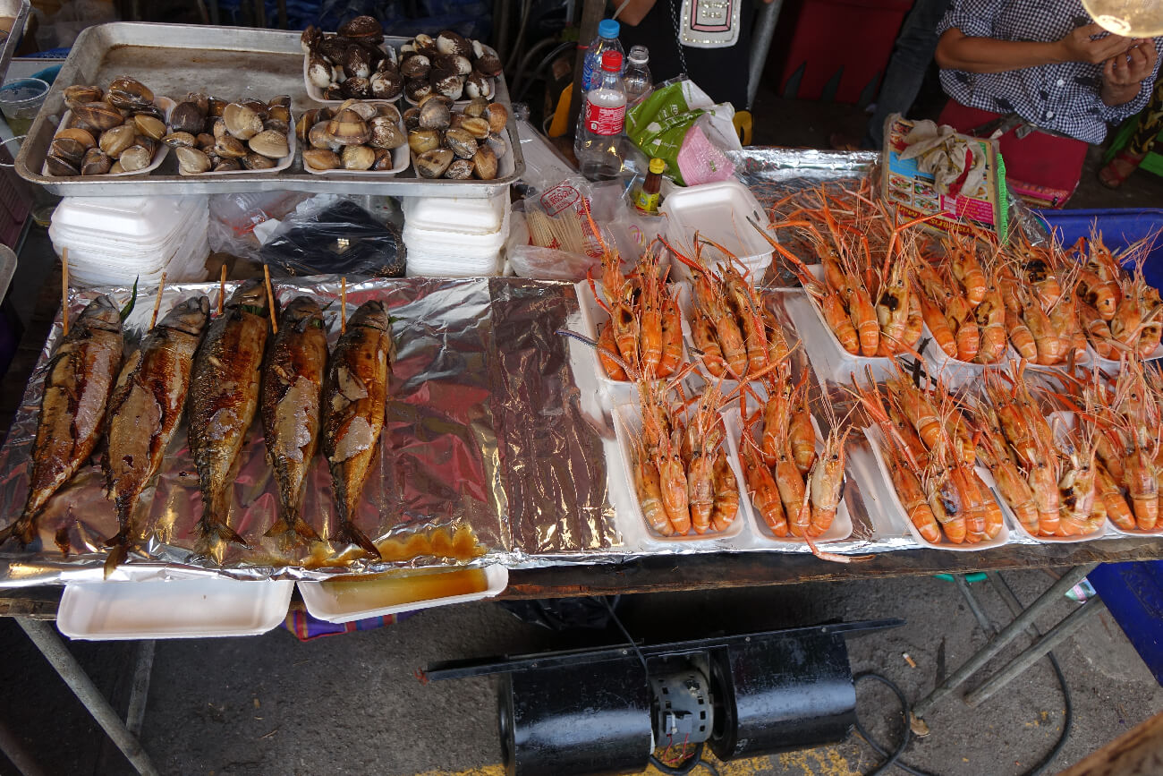 Seafood Streetfood in Bangkok