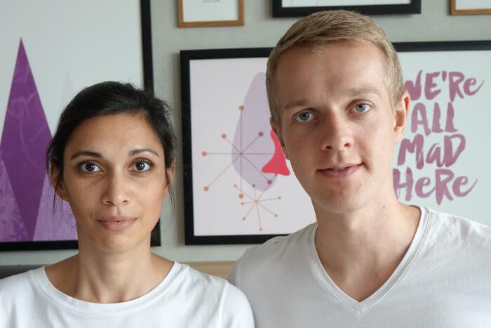Nahaufnahme von Henning und Jamila, KOPFSACHE