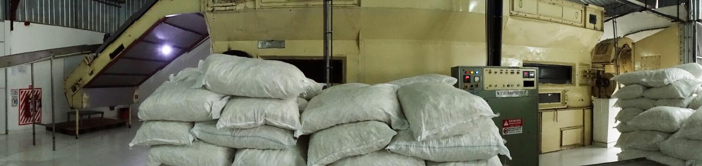 Ofen zur Trocknung bei der Kokosoelherstellung durch Kaltpressung