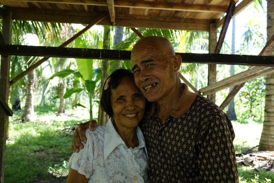 Bauern Ehepaar: die beiden sind Teil der Kooperative