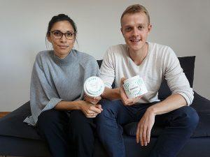 Henning und Jamila im Interview mit Hamburg Startups