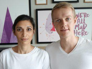 Portrait Henning und Jamila von KOPFSACHE