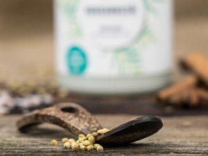 KOPFSACHE Kokosnussoel unterstuetzt die Ayurveda-Kochausbildung von Volker Mehl